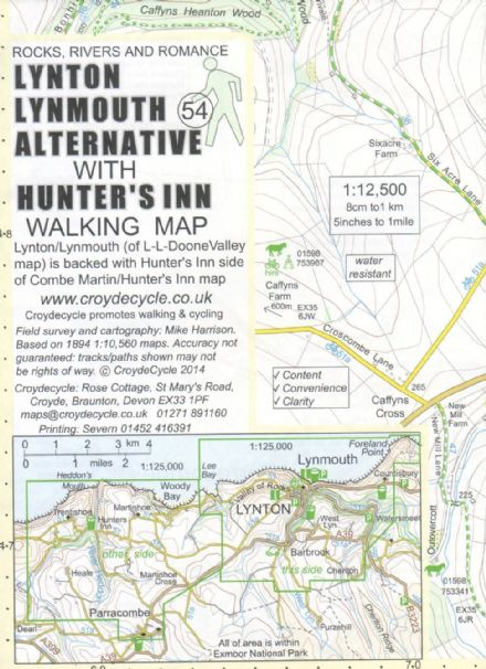 Lynton  Lynmouth & Hunter Inn